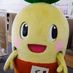 東京オフィスにくすっぴーがやってきた!